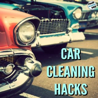 10 cleaning car hacks