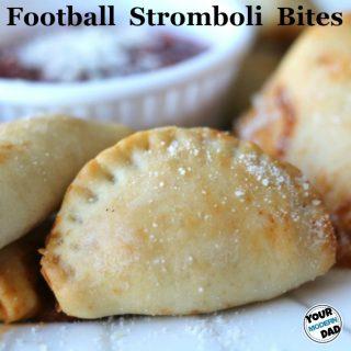 Football Stromboli bites