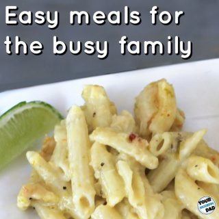 Easy meals for the busy family