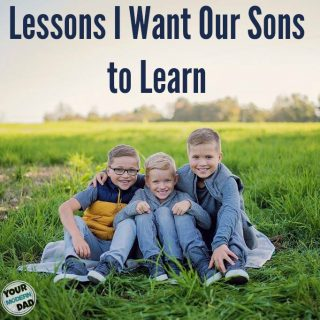 Lessons I Want My Sons to Learn