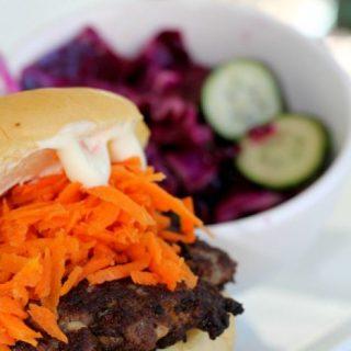 Lemongrass burger recipe
