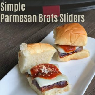Quick Recipe for the Big Game: Parmesan Brats Sliders