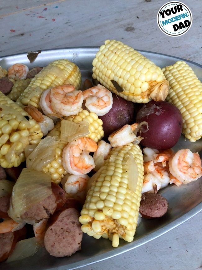 Low Country Boil Your Modern Dad