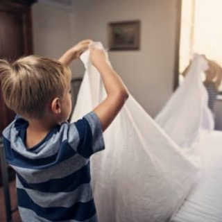 Motivating kids to help around the house with chores
