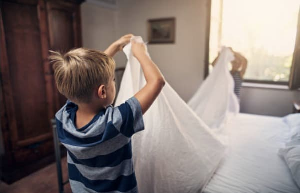 Motivating kids to help around the house with chores ...
