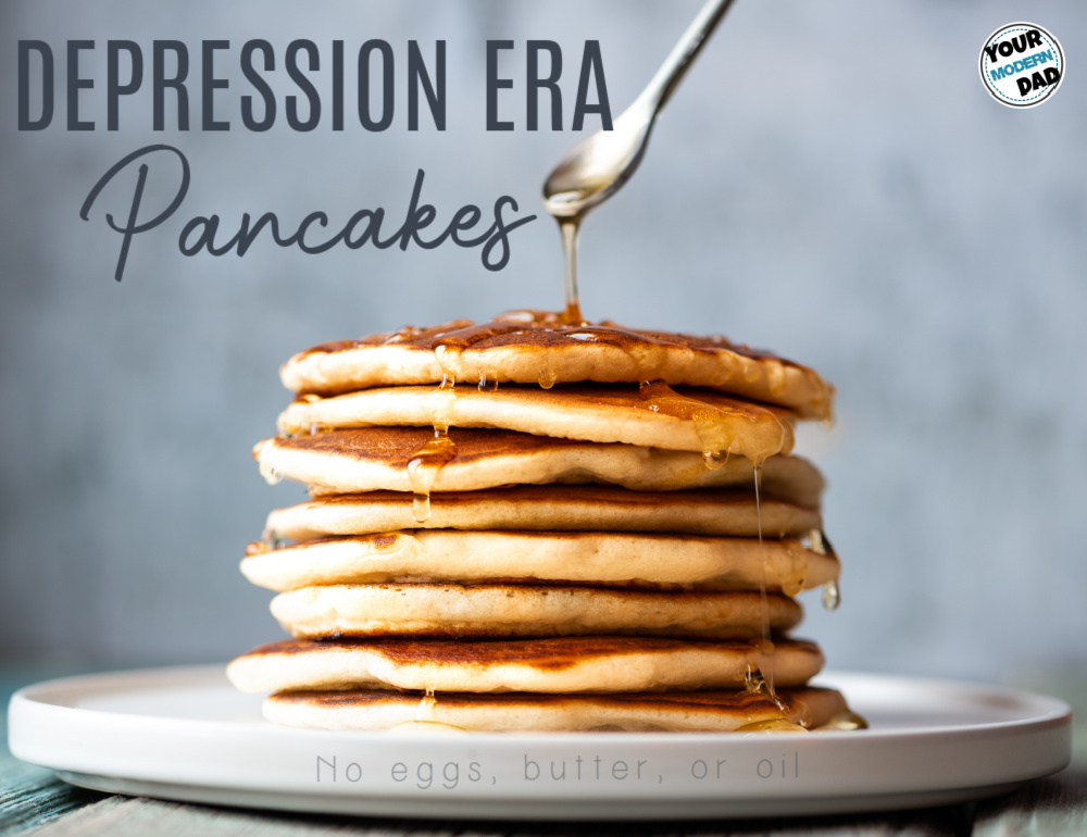 depression era pancakes