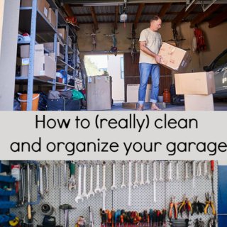 garage cleaning & organizing ideas
