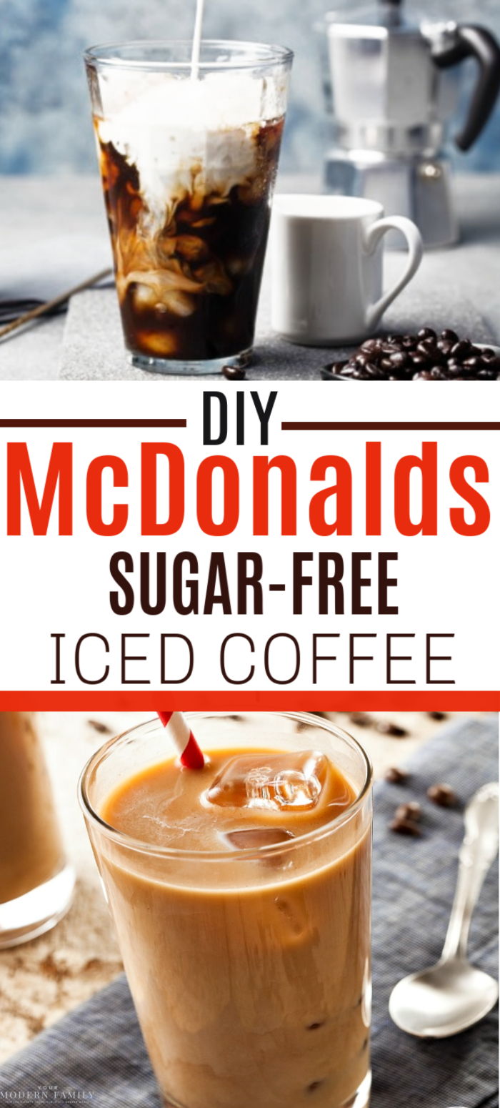 mcdonalds iced coffee recipe at home