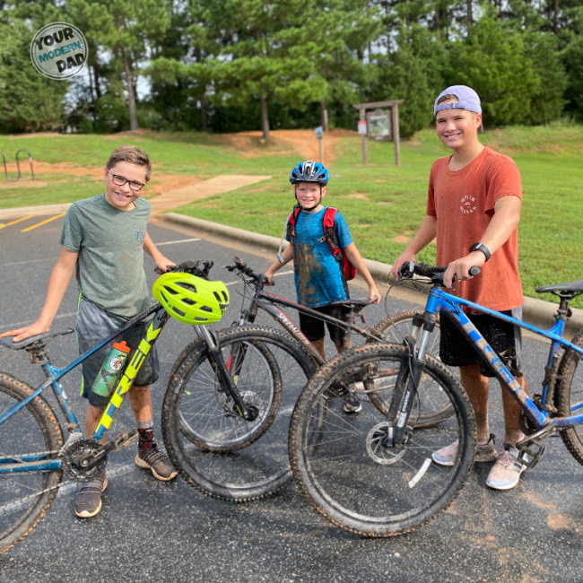 kids mountain biking
