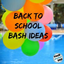Back to school bash ideas