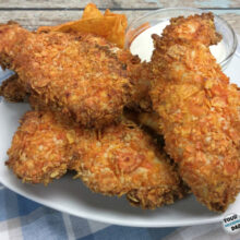 Doritos air fryer chicken